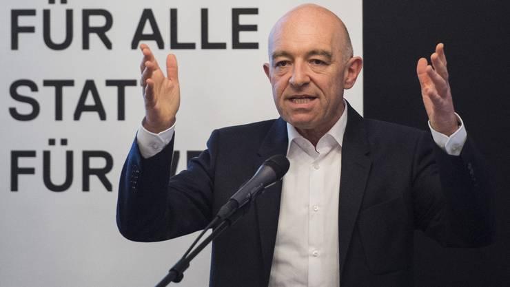 Daniel Jositsch zieht als einzig direkt gewählter Kanidat für Zürich ins Stöckli ein.
