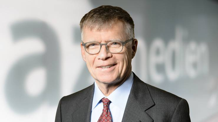 Verleger Peter Wanner.