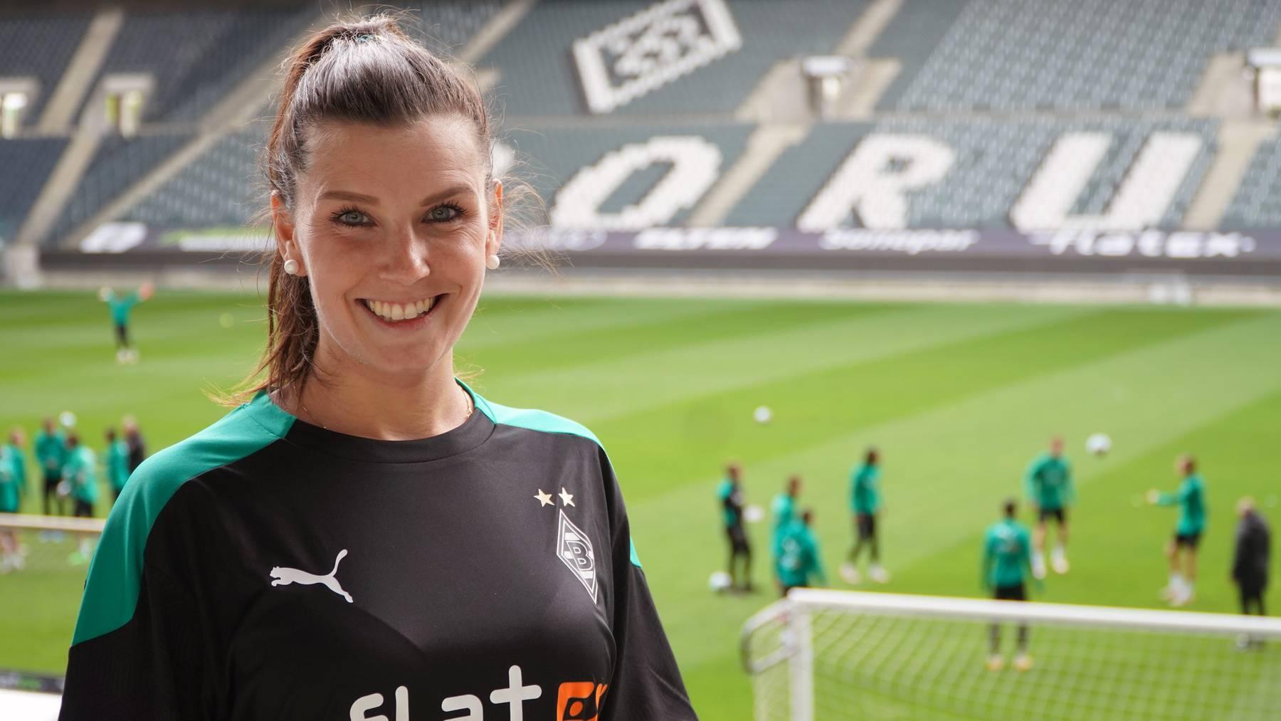 Sedrina Schaller ist neu im Teammanagement von Borussia Mönchengladbach.