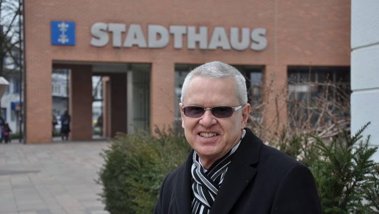 FDP-Gemeinderat Werner Hogg