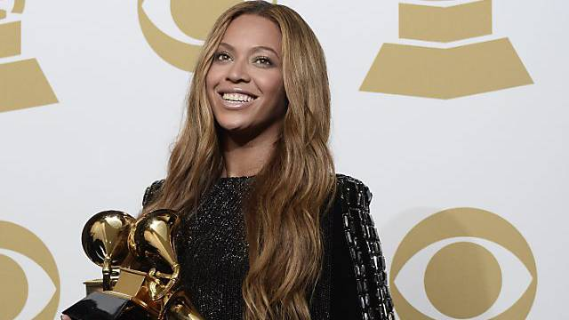 Überrascht auf Tidal: Sängerin Beyoncé