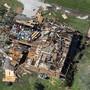 Hurrikan Laura hat schwere Schäden an der US-Küste am Golf von Mexiko angerichtet.