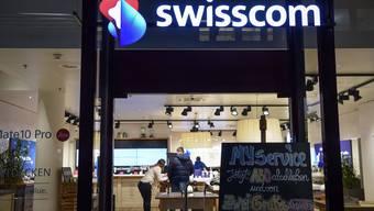 Corona hatte negative Auswirkungen auf den Umsatz und Gewinn von Swisscom.