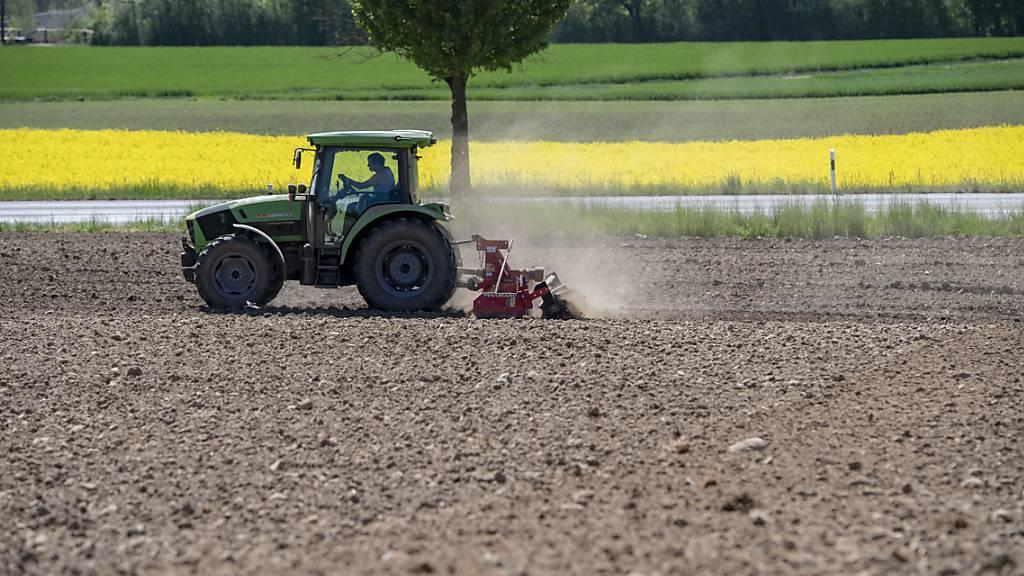 Im Kanton St. Gallen wird die Wochenarbeitszeit der Angestellten in der Landwirtschaft in einem neuen Normalarbeitsvertrag unter 50 Stunden gesenkt. (Symbolbild)
