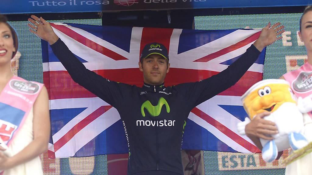 Brite Dowsett Solo-Sieger der 8. Giro-Etappe