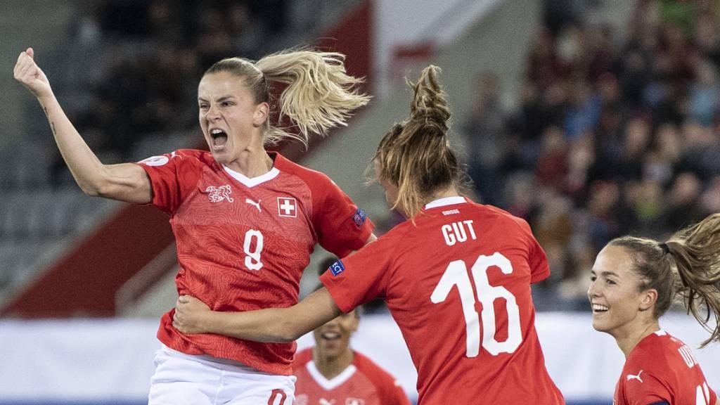 Schweizerinnen mit dem dritten Sieg im dritten Spiel