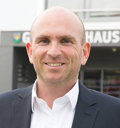 André Grolimund, Vize-Präsident der GAG und Politiker.
