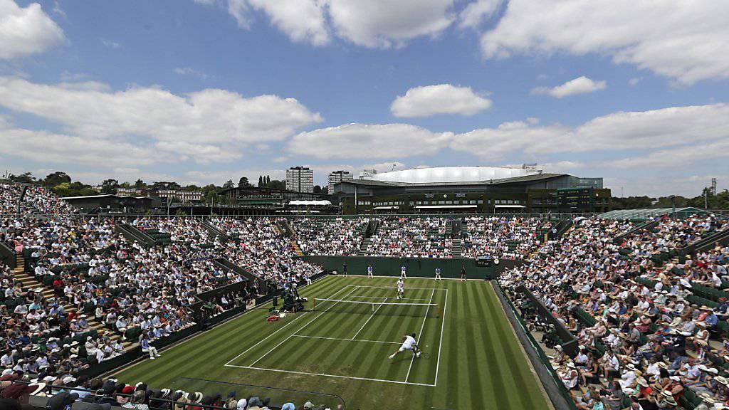 Das Wetter in London zeigte sich auch am dritten Turniertag in Wimbledon von seiner besten Seite