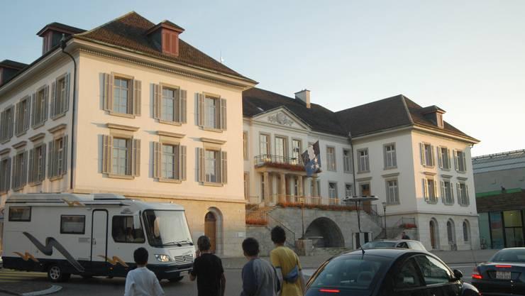 Wer wird den Sprung in den Regierungsrat schaffen? Im Bild das Regierungsratsgebäude in Aarau.