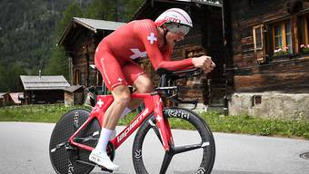 Stefan Küng darf sich neu nicht nur Schweizer Meister sondern auch Europameister im Zeitfahren nennen
