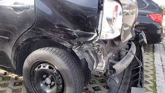 Unfall in Dättwil am 5. März.