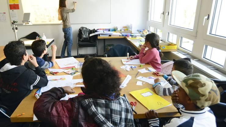 Drei Mal pro Woche kommen rund zehn Kinder aus den zwei Asyldurchgangszentren im Kanton an die Solothurner Bielstrasse.