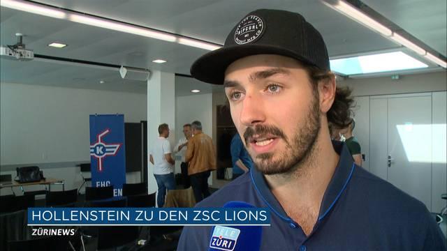 Hollenstein unterschreibt 5 Jahre bei den ZSC Lions