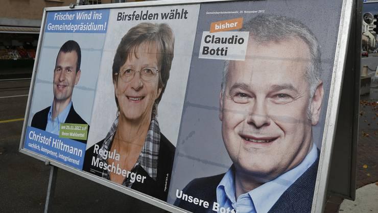 Aus dem Dreikampf ums Birsfelder Präsidium ist ein Zweikampf zwischen Christof Hiltmann und Claudio Botti geworden.