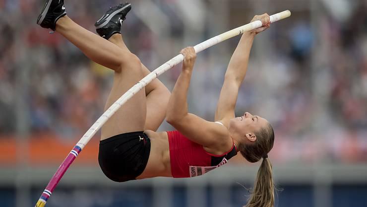 Angelica Moser ist aktuelle Junioren-Weltmeisterin im Stabhochsprung