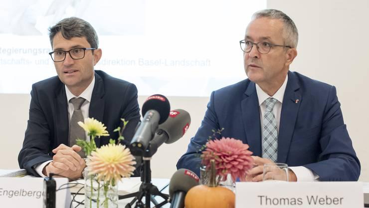 Gemeinsame Medienkonferenz von Lukas Engelberger und Thomas Weber (Archiv)
