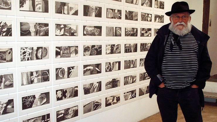 Franz Anatol Wyss zeigt in der Galerie Rössli in Balsthal neueste Arbeiten.