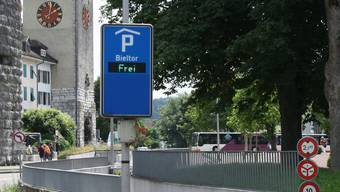 Begehrt: das Parkhaus Bieltor.