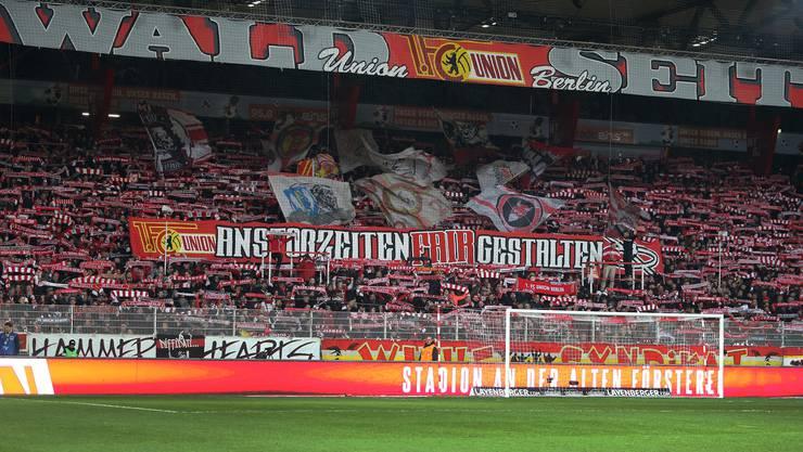 Euphorische Fans: Das Stadion «An der Alten Försterei» ist fast immer ausverkauft.