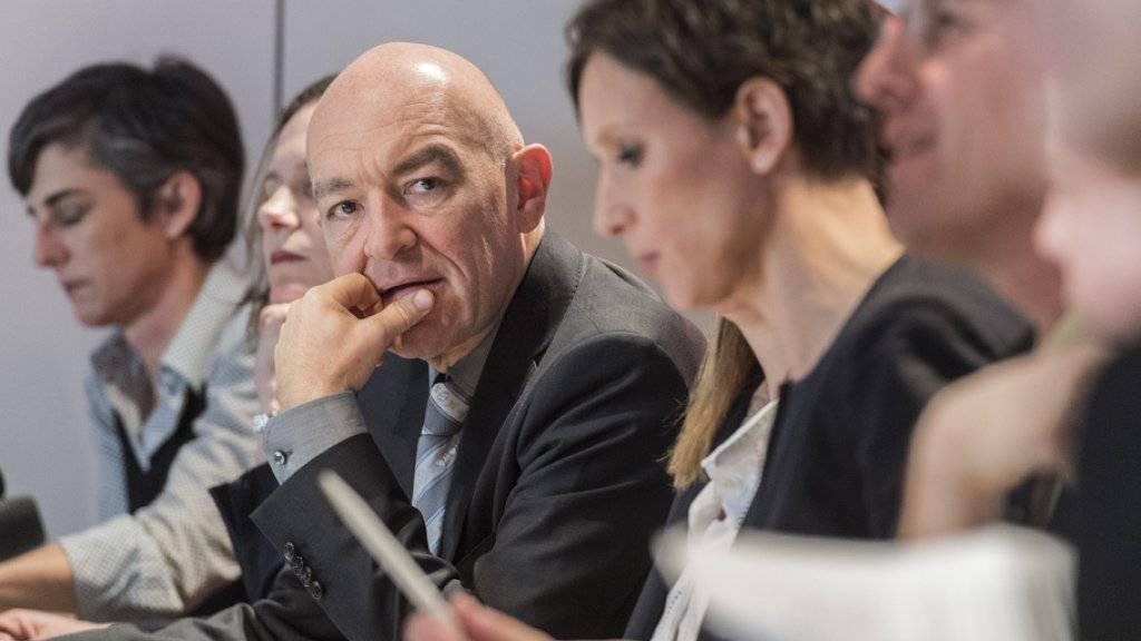 """Eine Gruppe um den Zürcher Ständerat Daniel Jositsch will den Einfluss des """"pragmatischen"""" SP-Flügels in der Partei stärken."""
