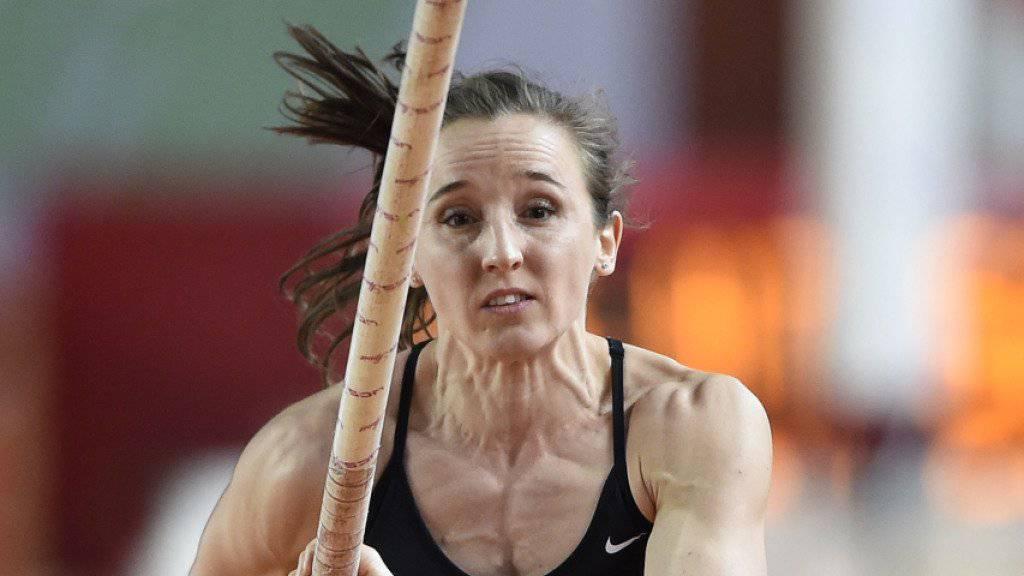 Nicole Büchler stellte an den Hallen-Weltmeisterschaften einen Schweizer Rekord auf