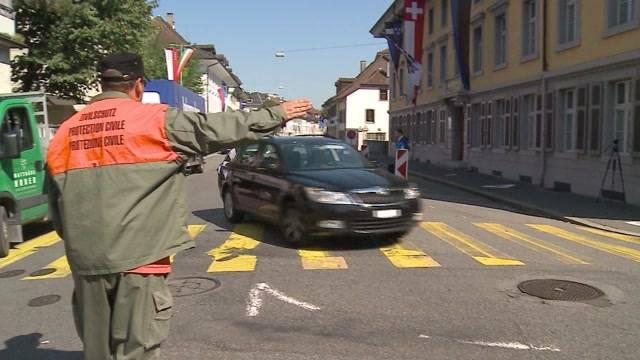 Aarauer Altstadt komplett gesperrt
