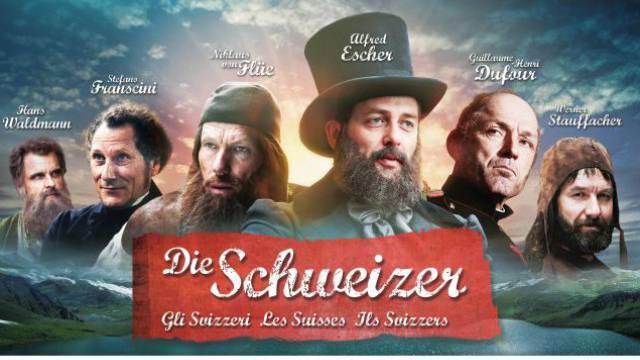 Sechs Männer, keine einzige Frau: So wirbt die SRG für den Themenmonat «Die Schweizer».
