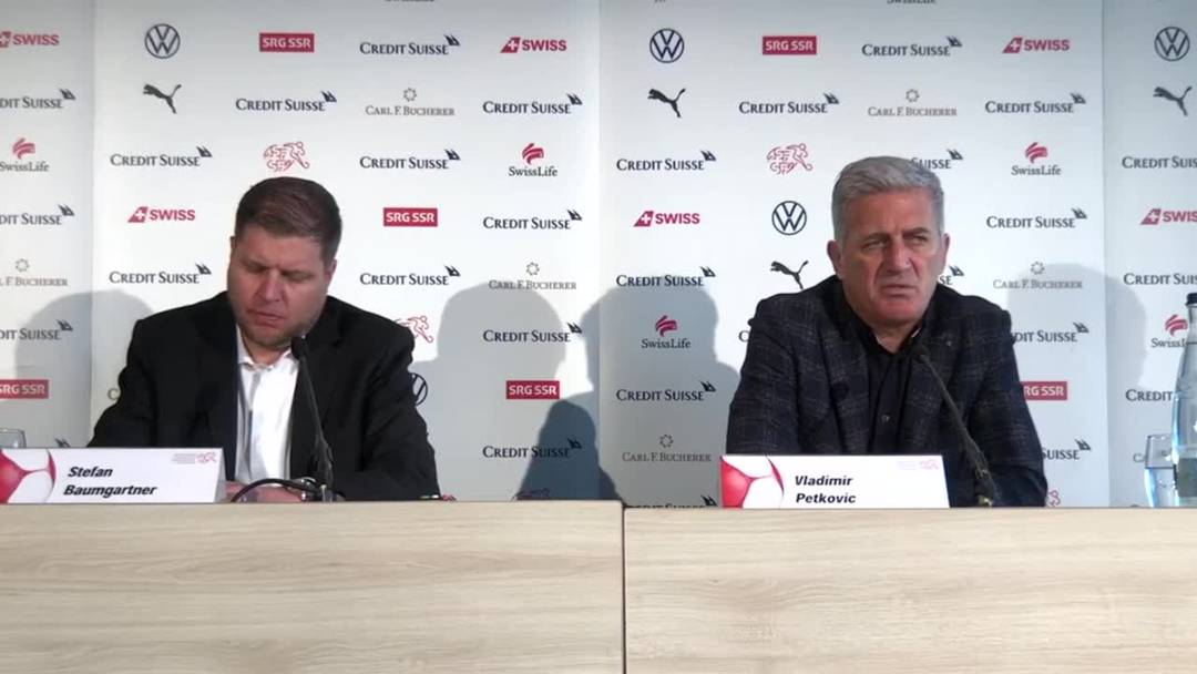 Nationaltrainer Vladimir Petkovic: «Ich stehe hinter Granit Xhaka»