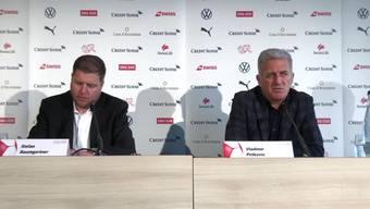 Nationaltrainer Vladimir Petkovic muss auf einige wichtige Namen, wie etwa Xherdan Shaqiri oder Breel Embolo, verzichten. Nicht verzichten wird er auf Granit Xhaka, der jüngst bei Arsenal für Aufruhr sorgte.