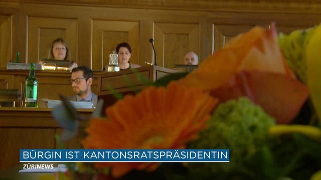 Yvonne Bürgin ist die neue Kantonsratspräsidentin