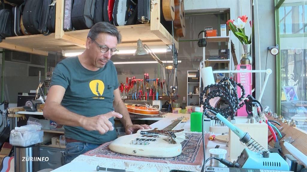 Talentierter Gitarrenbauer aus Wädenswil