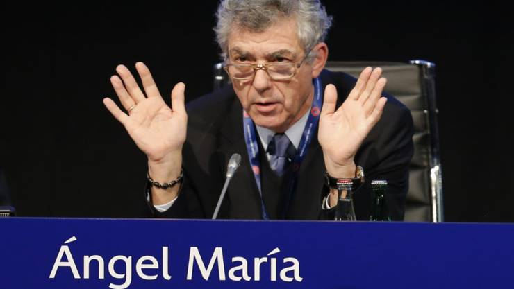 FIFA-Vizepräsident Angel Maria Villar steht unter Korruptionsverdacht
