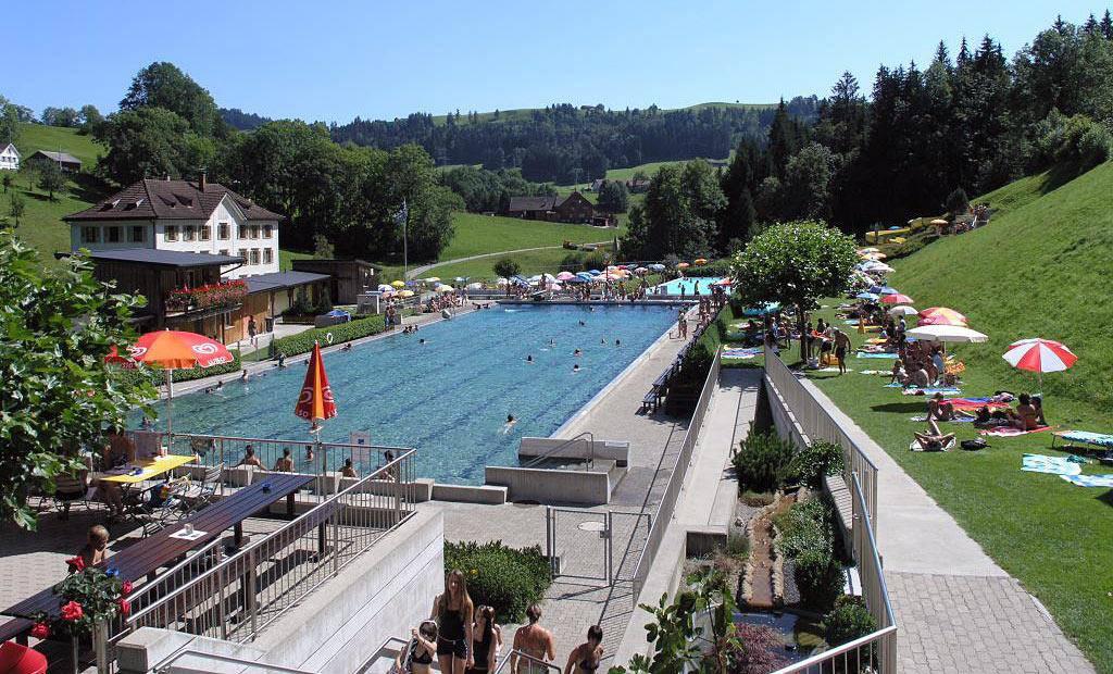 Der nächste Sommer kommt bestimmt - auch in der Badi Teufen. (© pd)