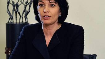 Bundespräsidentin Doris Leuthard will die Identität der Schweiz stärken