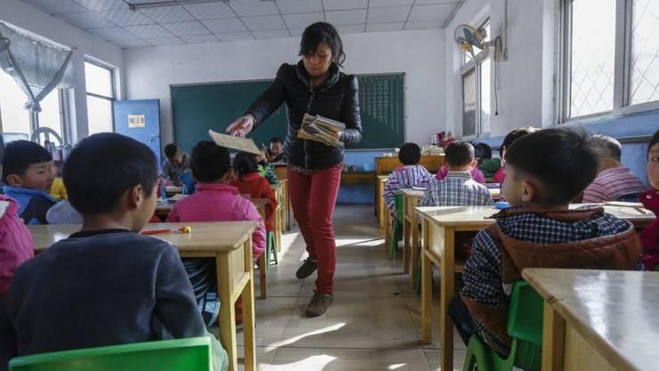 Zum Zeitpunkt der Explosion hielten sich die Kinder und ihre Erzieher noch in den Klassenräumen auf. (Symbolbild)