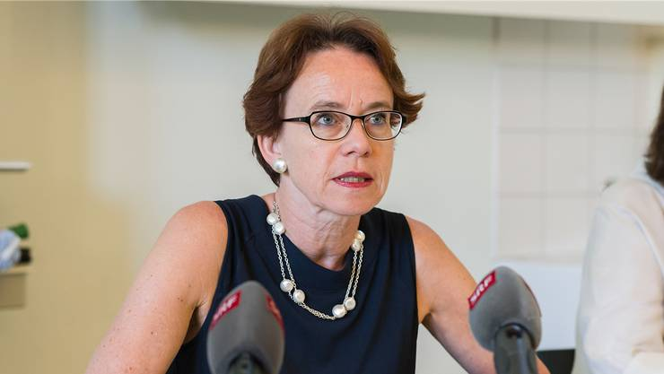 Die Basler Finanzdirektorin Eva Herzog weibelt national für die Steuervorlage 17 und einen Umbau des Nationalen Finanzausgleichs.