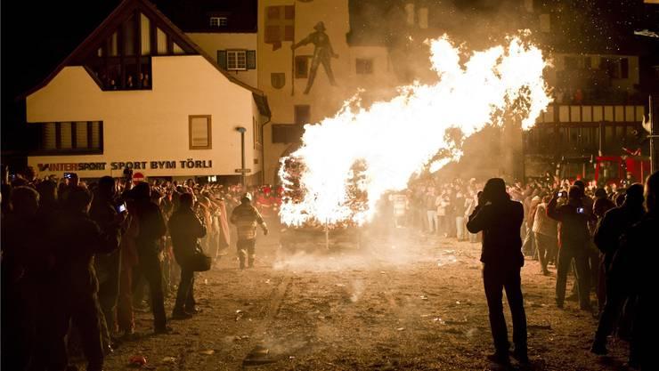 Beim Chienbäse in der Baselbieter Hauptstadt brennt das Feuer. Es mag aber nicht auf Fusionsdebatte übergreifen.