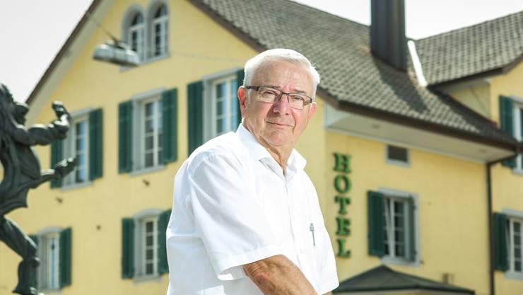 «Entweder richtig oder gar nicht», sagte der Reinacher Gemeindeammann Martin Heiz. (Archivbild)