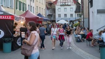 In Aarau ist immer etwas los – etwa dank Musig ide Altstadt.