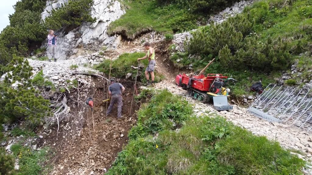Unterwegs mit Wegmacher Patric Hautle im Alpstein
