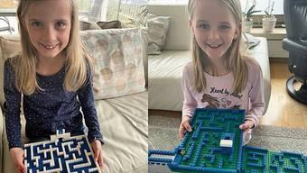 Lego-Murmel-Labyrinth: Ein Beispiel aus dem Seener Schul-Blog.