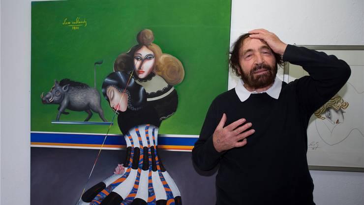 Alex Sadkowsky redet meist mit dem ganzen Körper. Hansjörg Sahli