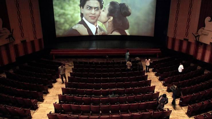 Bevor indische Kinos Filme spielen, müssen sie die Nationalhymne abspielen - und die Besucher müssen dazu zwingend aufstehen. (Symbolbild)