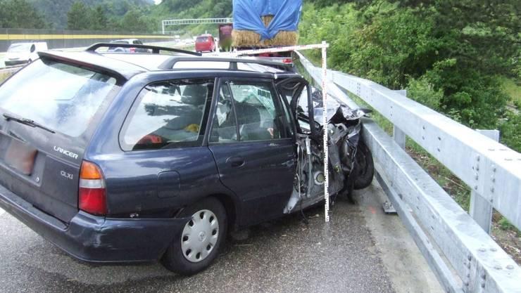 Unfall in Diegten bei A2
