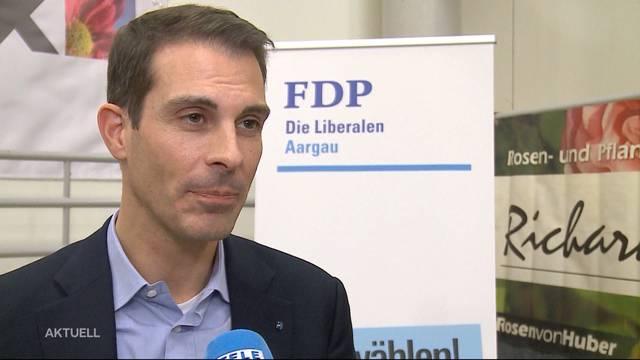 Thierry Burkart wird FDP-Ständeratskandidat