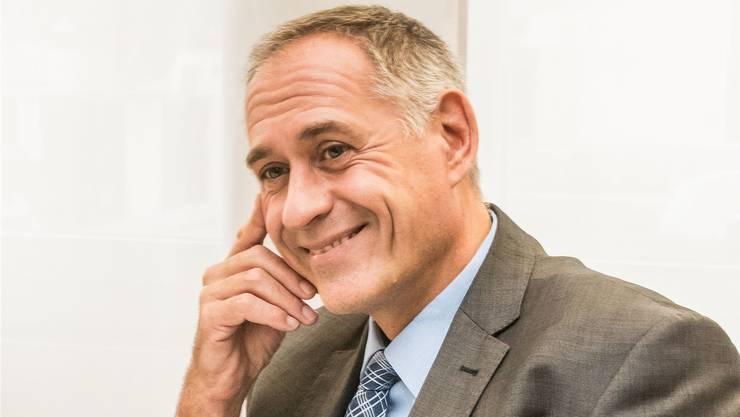 Er darf das BVB-Dossier weiterhin bearbeiten: SP-Regierungsrat Hans-Peter Wessels.
