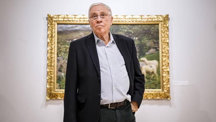 Christoph Blocher will nachträglich sein volles Ruhegehalt von 2,7 Millionen - und hat der FinDel seine Mitarbeit zugesichert.