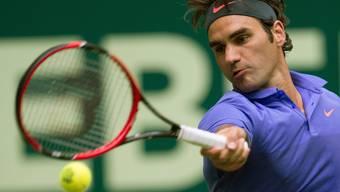 Federer steht im Viertelfinal