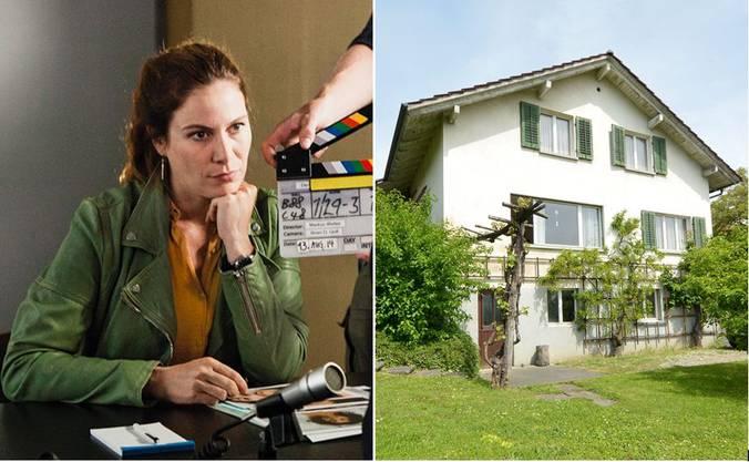 Hier wird ab Juni die neue Staffel «Der Bestatter» gedreht, es soll das Haus der Mutter von Kommissarin Anna-Maria Giovanoli darstellen.