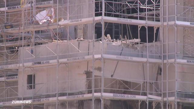 Ein Toter bei Baustellen-Drama in Bülach
